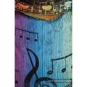 Onbuhimo Lennylamb - taille standard - Symphony Rainbow Dark