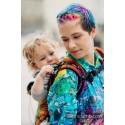 Porte bébé Préformé Baby - Symphony Rainbow Dark - Lennylamb - A partir de 6 mois