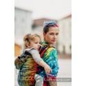 Porte bébé Préformé Toddler - Symphony Rainbow Dark - Lennylamb - A partir de 18 mois