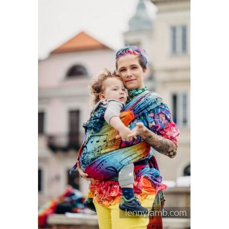 Wraptai - Taille Toddler - Symphony Rainbow Dark - Lennylamb