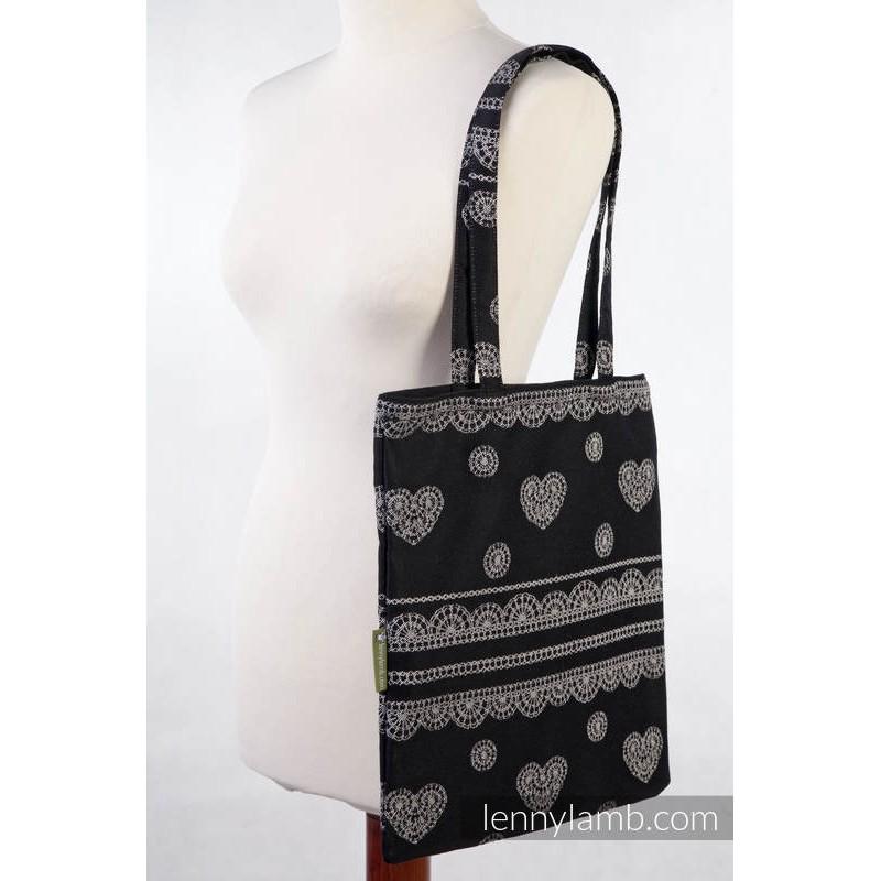 Sac Shopping Lennylamb - Glamorous Lace - 33cmx39cm