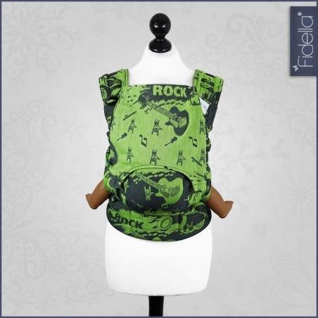 Porte bébé Fusion - Rock n Rolla green - Fidella