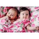 Lange bébé - Rose Bloom - Lennylamb