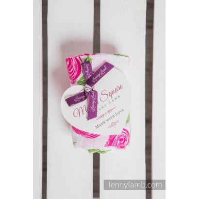 Carré de mousseline bébé - Rose Blossom - Lennylamb - 2