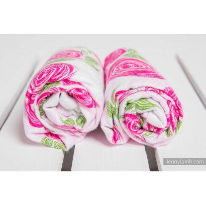 Carré de mousseline bébé - Rose Blossom - Lennylamb - 3
