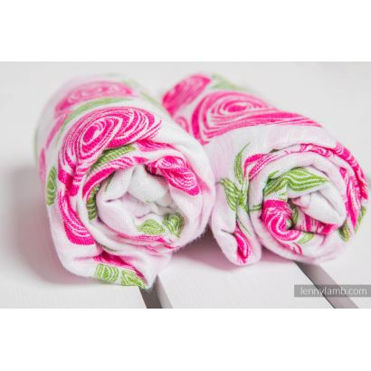 Carré de mousseline bébé - Rose Blossom - Lennylamb - 4