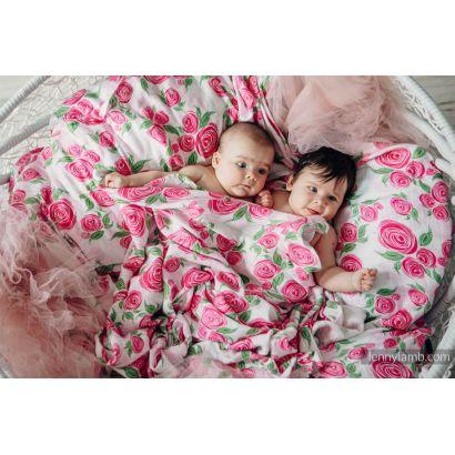 Carré de mousseline bébé - Rose Blossom - Lennylamb - 7
