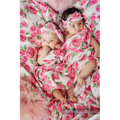 Carré de mousseline bébé - Rose Blossom - Lennylamb - 8