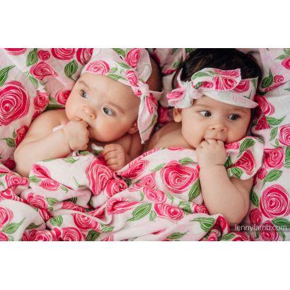 Carré de mousseline bébé - Rose Blossom - Lennylamb - 9