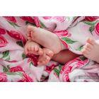 Carré de mousseline bébé - Rose Blossom - Lennylamb - 10