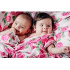 Carré de mousseline bébé - Rose Blossom - Lennylamb - 11