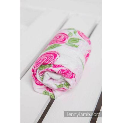 Carré de mousseline bébé - Rose Blossom - Lennylamb - 1