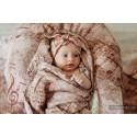Lange bébé - Symphony Brown & Cream - Lennylamb