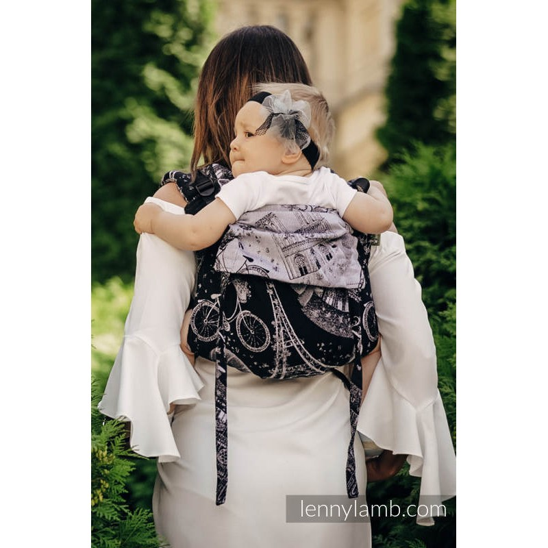 Onbuhimo Lennylamb - taille Toddler - City of Love at Night