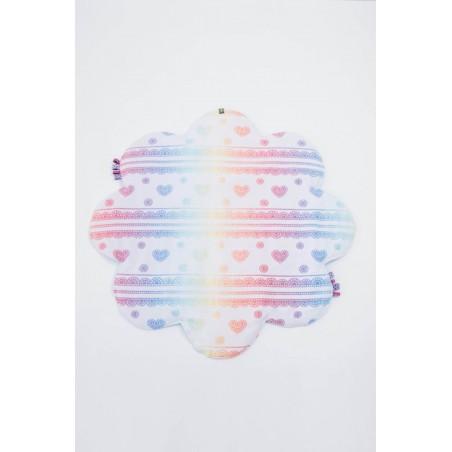Tapis de sol bébé - Rainbow Lace Reverse - Lennylamb