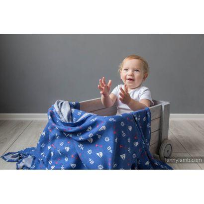 Carré de mousseline bébé - Sailor - Lennylamb - 5