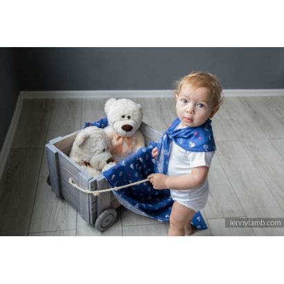 Carré de mousseline bébé - Sailor - Lennylamb - 6