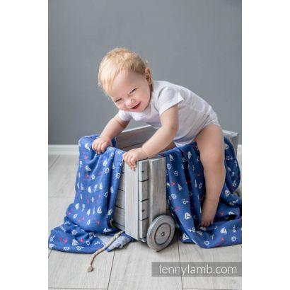 Carré de mousseline bébé - Sailor - Lennylamb - 8