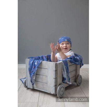 Carré de mousseline bébé - Sailor - Lennylamb - 10