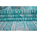 Echarpe Yaro - Hipster Contra Turkis Wool - 70% coton/30% laine