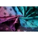 Echarpe Yaro - Stars Spring Sunrise Grad Black - 100% coton