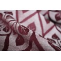 Echarpe Yaro - La Vita Bordeaux Natural Hemp - 60% coton/40% chanvre