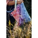 Sac Shopping Lennylamb - Swallows Rainbow Light - 33cmx39cm