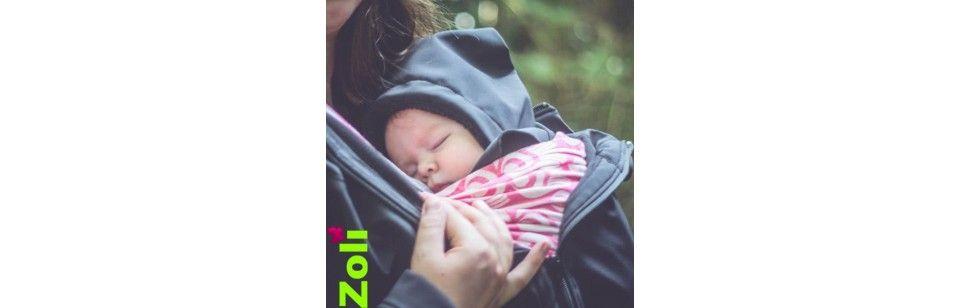 Capuchon Zoli Softshell imperméable, pour les bébés ou les enfants.