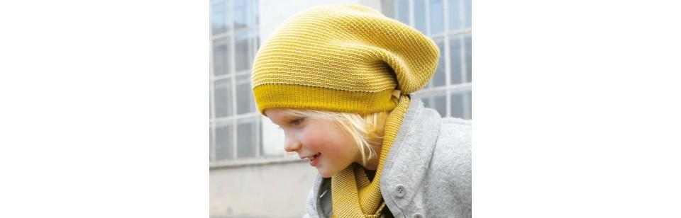Disana - Bonnet long en laine tricotée