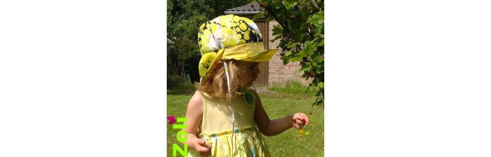 Chapeaux Zoli - Taille bébé ou enfant, pratiques, beaux et réversibles